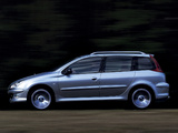 Peugeot 206 SW Concept 2001 pictures