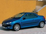 Peugeot 206 CC 2001–03 wallpapers
