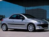 Peugeot 206 CC 2001–03 wallpapers