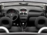 Peugeot 206 CC 2003–06 images