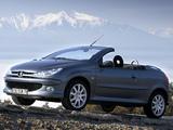 Peugeot 206 CC 2003–06 photos