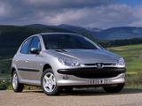 Peugeot 206 5-door 2003–05 pictures