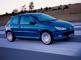 Peugeot 206 RC 2003–06 wallpapers