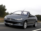 Peugeot 206 CC 2003–06 wallpapers