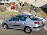 Peugeot 206 Sedan 2006 pictures
