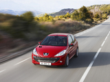 Peugeot 206+ 3-door 2009–12 wallpapers