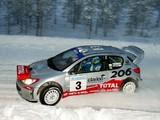 Photos of Peugeot 206 WRC 1999–2003
