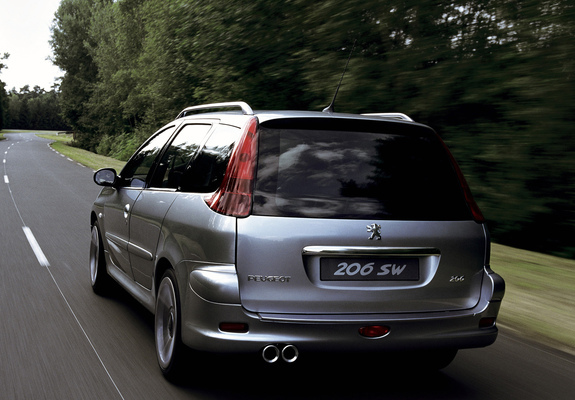 Photos Of Peugeot 206 Sw Concept 2001