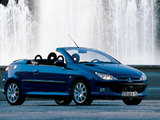 Pictures of Peugeot 206 CC 2001–03