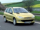Pictures of Peugeot 206 SW 2002–06