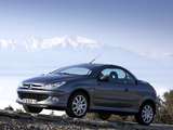 Pictures of Peugeot 206 CC 2003–06