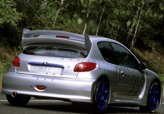Peugeot 206 Wrc Concept 1998 Wallpapers