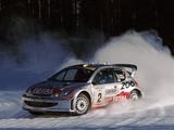 Peugeot 206 WRC 1999–2003 wallpapers