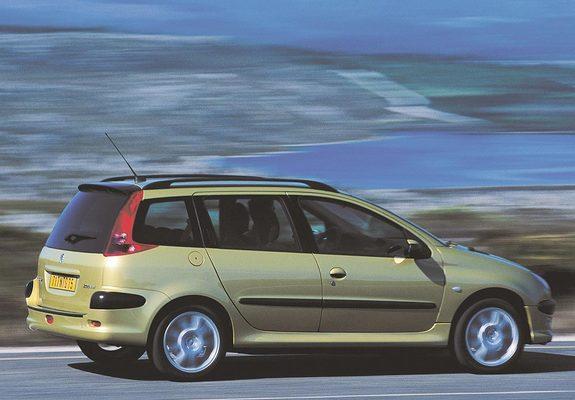 Peugeot 206 Sw 200206 Wallpapers