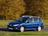 Peugeot 206 SW UK-spec 2002–06 wallpapers
