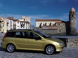 Peugeot 206 SW 2002–06 wallpapers