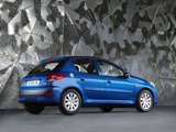 Peugeot 206+ 5-door 2009–12 wallpapers