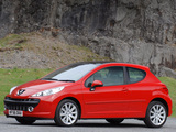 Images of Peugeot 207 3-door UK-spec 2006–09