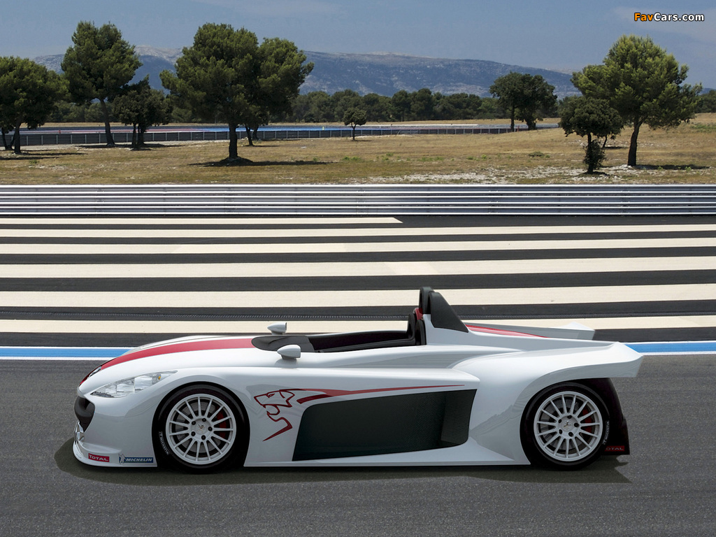 Images of Peugeot 207 Spider Concept 2006 (1024 x 768)