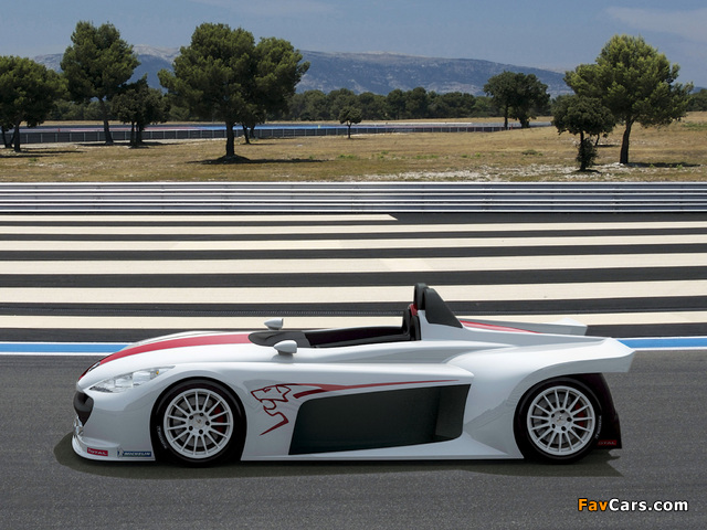 Images of Peugeot 207 Spider Concept 2006 (640 x 480)