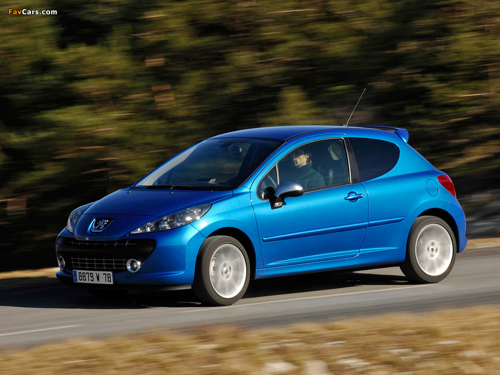 Images of Peugeot 207 RC 2007–09 (1024 x 768)