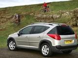 Images of Peugeot 207 SW Outdoor UK-spec 2007–09