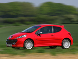 Images of Peugeot 207 GTi UK-spec 2007–09