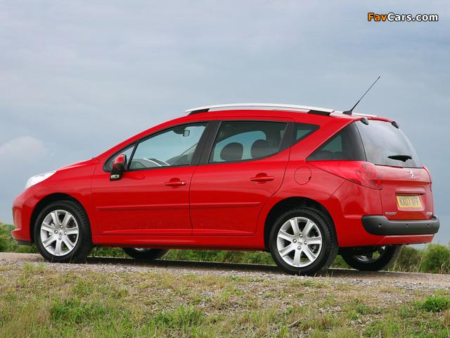 Images of Peugeot 207 SW UK-spec 2008 (640 x 480)