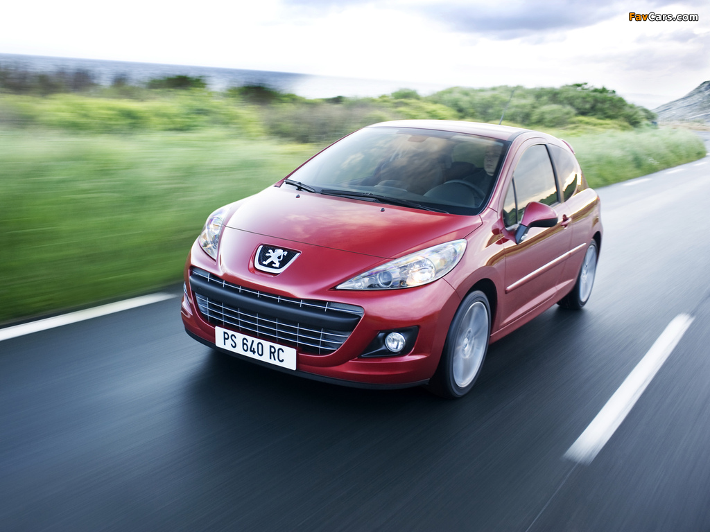 Images of Peugeot 207 RC 2009 (1024 x 768)