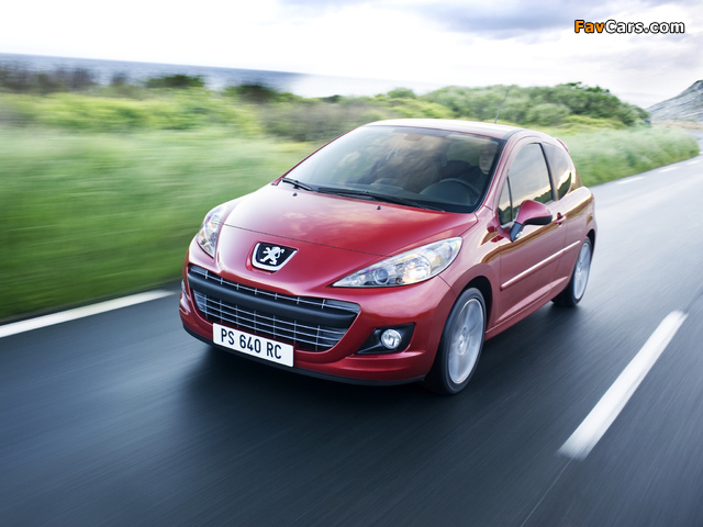 Images of Peugeot 207 RC 2009 (640 x 480)