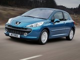 Peugeot 207 3-door UK-spec 2006–09 images