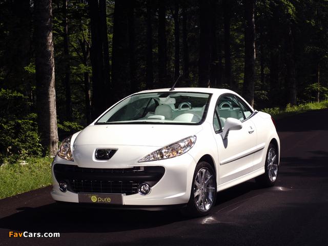 Peugeot 207 Epure Concept 2006 images (640 x 480)