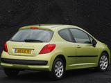 Peugeot 207 3-door 2006–09 images