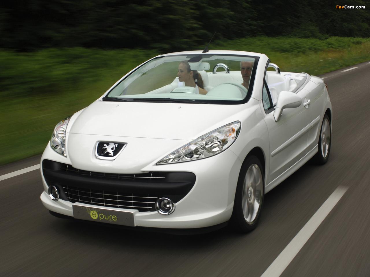 Peugeot 207 Epure Concept 2006 photos (1280 x 960)