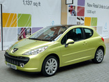 Peugeot 207 3-door UK-spec 2006–09 photos