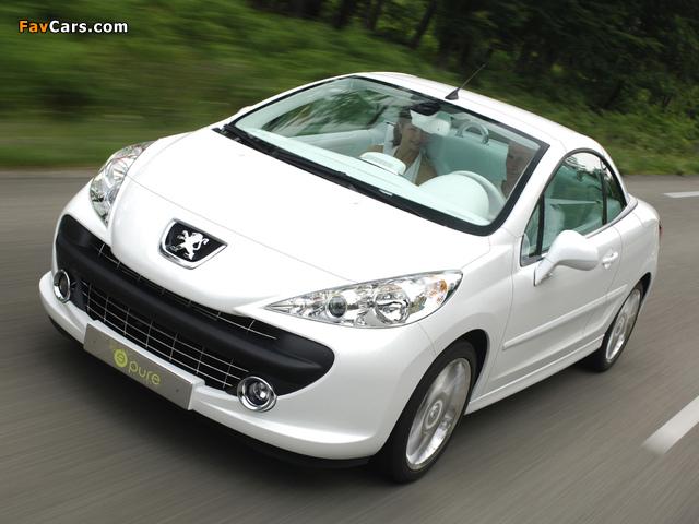 Peugeot 207 Epure Concept 2006 pictures (640 x 480)