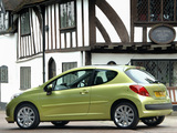 Peugeot 207 3-door UK-spec 2006–09 wallpapers