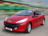Peugeot 207 CC UK-spec 2007–09 images