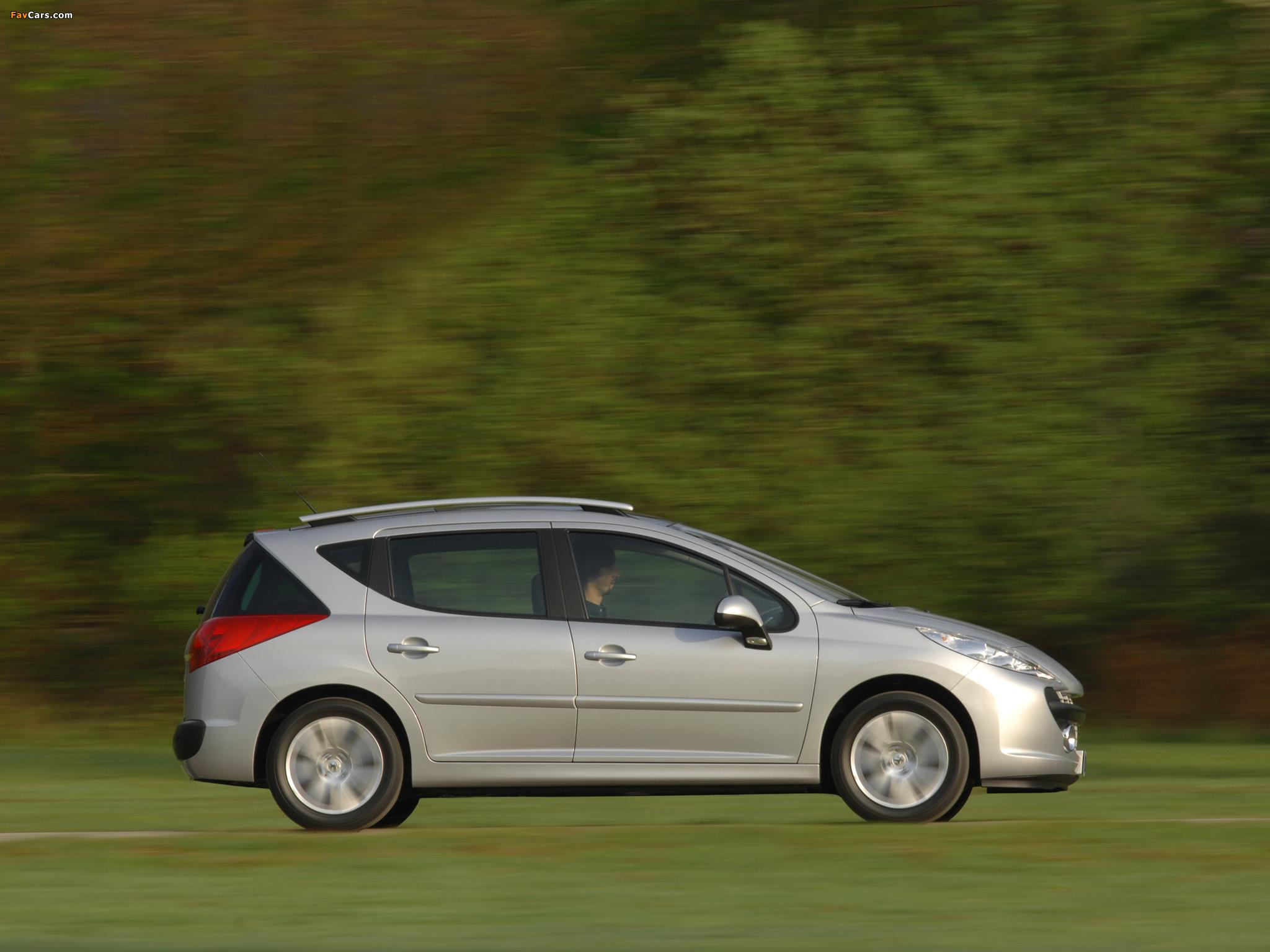 Peugeot 207 SW 2007–09 images (2048 x 1536)
