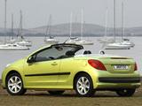 Peugeot 207 CC ZA-spec 2007–10 images