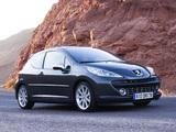 Peugeot 207 RC 2007–09 images