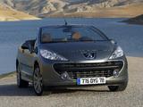 Peugeot 207 CC 2007–09 images