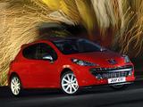 Peugeot 207 GTi ZA-spec 2007–10 images