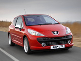 Peugeot 207 GTi ZA-spec 2007–10 photos