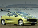 Peugeot 207 CC ZA-spec 2007–10 photos