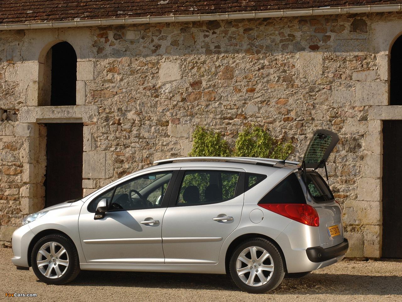 Peugeot 207 SW 2007–09 photos (1280 x 960)
