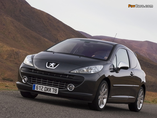 Peugeot 207 RC 2007–09 photos (640 x 480)