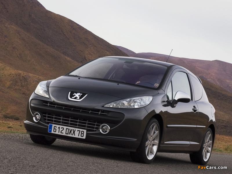 Peugeot 207 RC 2007–09 photos (800 x 600)