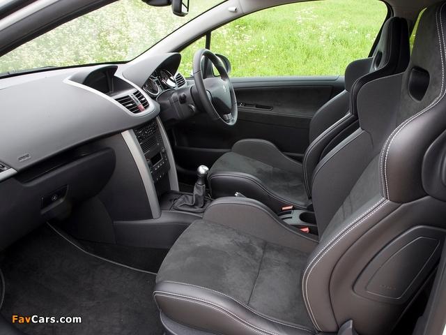 Peugeot 207 GTi UK-spec 2007–09 photos (640 x 480)