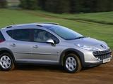 Peugeot 207 SW Outdoor UK-spec 2007–09 photos